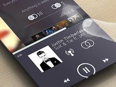 New MySpace Player | Designer: Edwin Delgado