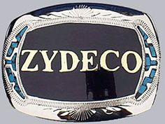 Zydeco belt buckle