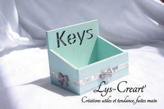 Boite vide poche, originale et utile - by Lys-Créart' #handmade
