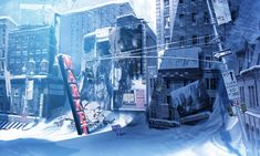 anime winter scenery wallpaper photo awesome wallpaper high quality resolution o. - anime winter scenery wallpaper photo awesome wallpaper high quality resolution on & illustration - Scenery Wallpaper, City Wallpaper, Computer Wallpaper, Post Apocalypse, Apocalypse Aesthetic, Nuclear Winter, Post Apocalyptic Art, Anime City, Winter Scenery