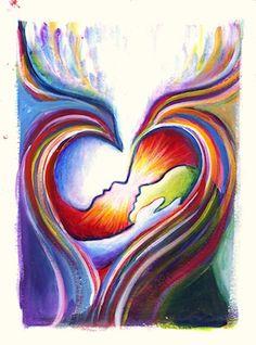 visual blessings:  Beautiful art from art journals