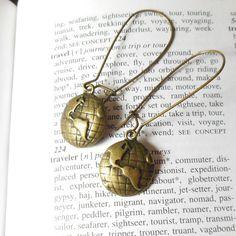 World Travel Earrings by MySoulCanDance