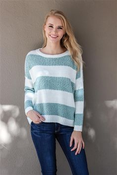 "The softest sweater around... ""If You Sage So"".  In store and online at Lauren Nicole!"