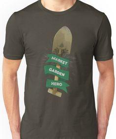 MARKET GARDEN HERO - Team Fortress 2 Unisex T-Shirt