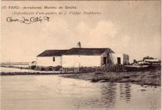Algarve, Totem, Portugal, Old Postcards, Windmills, Old Photos, Crafts, Painting, Grilling