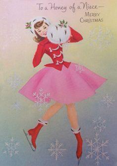 Pretty Christmas skater.