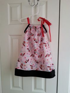 Minnie Mouse Pillowcase Dress by RompersAndRibbons on Etsy