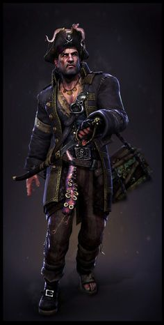 pirate character concept - Google Search