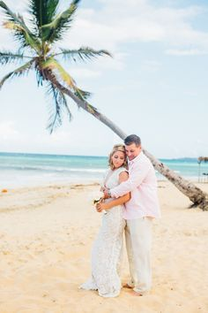 The Punta Cana wedding is one part relaxing in the sun and one part luxurious nuptials. http://www.stylemepretty.com/2016/12/19/all-the-inspiration-you-need-for-your-dream-destination-wedding/ #sponsored