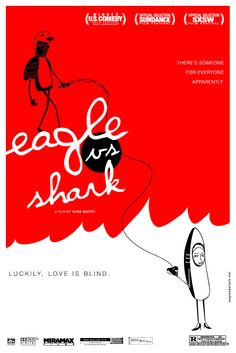 eagle vs shark movie poster by aditya4art.deviantart.com
