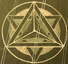 Crop Circle at Wanborough Plain, nr Liddington, Wiltshire. Reported  1st and 21st July July 2012.