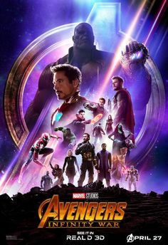 New Avengers: Infinity War Real 3D Poster #Marvel
