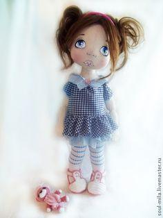 Нюся - куклы и игрушки,коллекционная кукла,текстильная кукла,интерьерная кукла