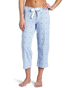 Nautica Sleepwear Women`s Knit Sailboat Capri $26.99