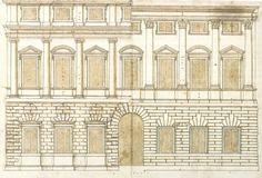 Andrea Palladio , variations for palazzo Porto in Vicenza
