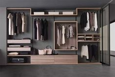 Cabina Armadio Zenit : Zenit walk in wardrobe by rimadesio available at haute living