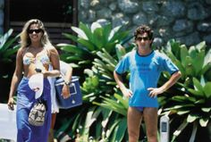 Ayrton Senna e Adriane Galisteu - Angra dos Reis