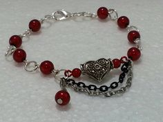 Check out this item in my Etsy shop https://www.etsy.com/listing/216478373/valentines-be-mine-bracelet