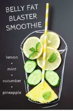 Drink this smoothie and watch it blast away belly fat! Smoothie for weight loss. Recipes for weight loss Belly Fat Blaster Smoothie Recipe Healthy Detox, Healthy Juices, Healthy Drinks, Healthy Snacks, Good Smoothie Recipes, Healthy Smoothie Recipes, Fat Burning Smoothie Recipes, Diet Recipes, Breakfast Smoothie Recipes