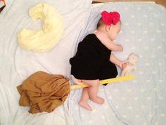 sleeping baby art - kiki's delivery service