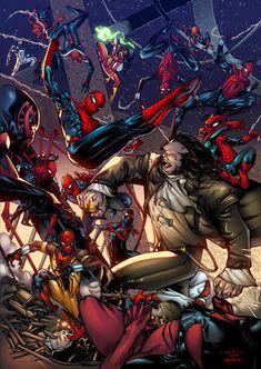 Spider-Verse Tribute by SpiderGuile, Fernando Argüello & Alonso Espinoza