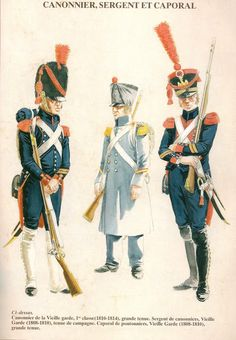 Artiglieria a piedi della guardia imperiale francese