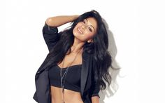 Download wallpapers Nicole Scherzinger, American singer, photoshoot, fashion model, brunette, beautiful woman