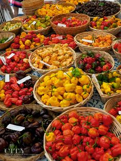 """The Greenville Saturday market gives shoppers the chance to meet farmers face to face.  Everything from mushrooms (anyone heard of chaga?) to exotic hot peppers (including the Carolina reaper), plants and okra the size of your arm were on display."" Lanherne Farms grows the largest selection of peppers in South Carolina"", via City Style and Living // yeahTHATgreenville"