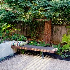 How to create 4 outdoor rooms in a small backyard | Reading | Sunset.com