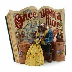 Jim Shore Disney Traditions - Belle Figur Es war einmal