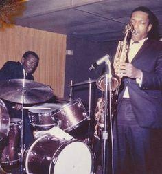 Coltrane and Elvin Jones