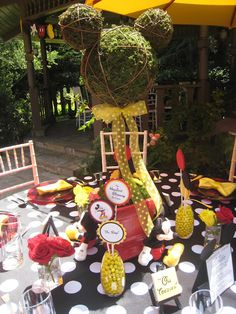 Topiary Mickey Mouse for Disney party