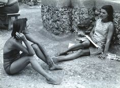 Lee Radziwill and Jackie Kennedy on the Almafi Coast