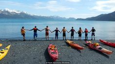 Gould's company provides immersive, engaging trips (Credit: Credit: Kayak Adventures Worldwide)