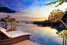 Travel Inspiration of the Day: Gayana Eco Resort, Sabah, Borneo Kota Kinabalu, Hotels And Resorts, Best Hotels, Malaysia Travel, Malaysia Trip, Overwater Bungalows, Honeymoon Places, Hotel Pool, Island Resort