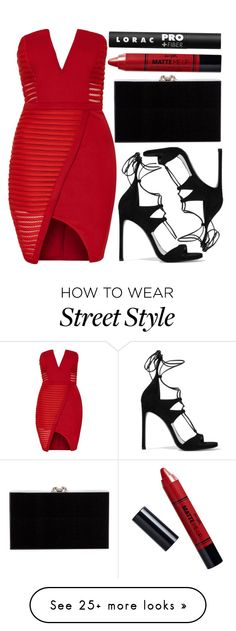 """""""street style"""" by sisaez on Polyvore featuring Topshop, Stuart Weitzman, Charlotte Olympia, Barry M and LORAC"""