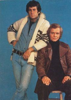 Starsky & Hutch  Paul Micheal Glazier & David Soul . http://youtu.be/c2en-Ihaxn0