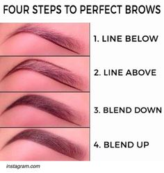 make up;make up for beginners;make up tutorial;make up for brown eyes;make up for hazel eyes;make up organization;make up ideas; Eyebrow Makeup Tips, Makeup Hacks, Skin Makeup, Makeup Brushes, Makeup Ideas, Makeup Eyebrows, Makeup Routine, Makeup Geek, Makeup Tutorials