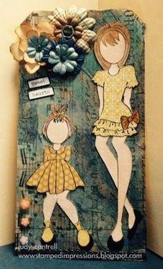 Card with Julie Nutting Stamp | Stamped Impressions | Bloglovin'