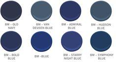 44 Ideas Dark Navy Front Door Benjamin Moore For 2019 Interior Paint Colors For Living Room, Exterior Paint Colors, Paint Colors For Home, House Colors, Blue Paint Colors, Grey Paint, Navy Blue Wedding Shoes, Van Deusen Blue, Benjamin Moore Blue