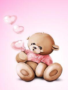Użyj STRZAŁEK na KLAWIATURZE do przełączania zdjeć 3d Pictures, Pretty Pictures, Heart Bubbles, Sweet Hug, Bear Images, Bear Cartoon, Tatty Teddy, Animation, Cute Bears