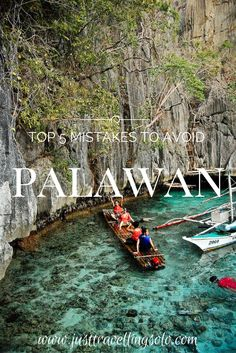 To get stoked when visiting the many vibrant towns of Palawan where you can count more foreign heads than locals, you need to avoid this top 5 mistakes. So read on!