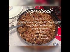 Holiday Rice for Christmas! Sour Taste, Asian Recipes, Holiday, Christmas, Easy Meals, Rice, Tasty, Beef, Chicken