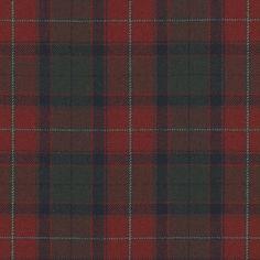 Burrough Court Tartan - Red - Plaids & Checks - Fabric - Products - Ralph Lauren Home - RalphLaurenHome.com