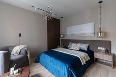 МЕТРАЖ: 60 м2  ДИЗАЙН: ARCA DESIGN Bed, Furniture, Home Decor, Homemade Home Decor, Stream Bed, Home Furnishings, Interior Design, Beds, Home Interiors