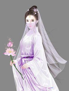 古代手绘美女 古代美人