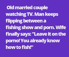 Old married couple watching TV. http://ultimategiggles.com/category/jokes/