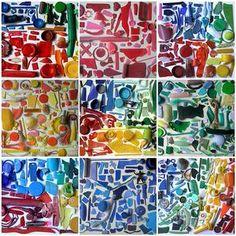 Bekijk de foto van Lime met als titel Kunstwerk met kleurrijk afval! en andere inspirerende plaatjes op Welke.nl.