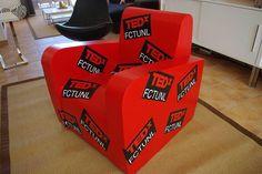 TEDX cardboard armchair