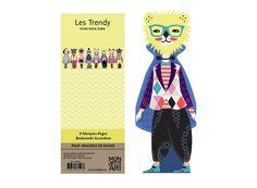 Mon Petit Art - Trendy könyvjelző 8 db-os